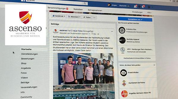 Studierende übernehmen Social Media Aktivitäten